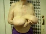 amazing big granny tits